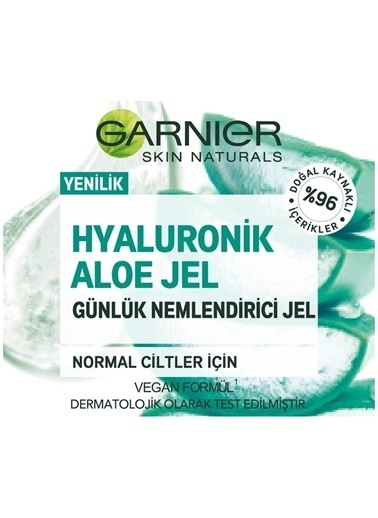 Garnier Garnier Hyaluronik Aloe Jel 50 Ml Renksiz